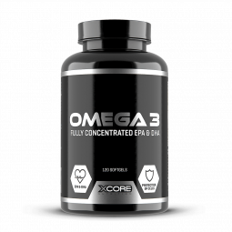 Xcore omega 3 120gels
