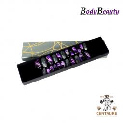 Pack violet et noir